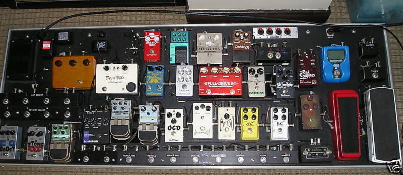 Guitar Pedals Board Guitar Effects Pedals For
