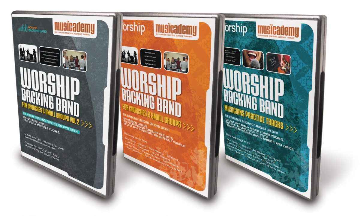 Worship Backing Band DVDs