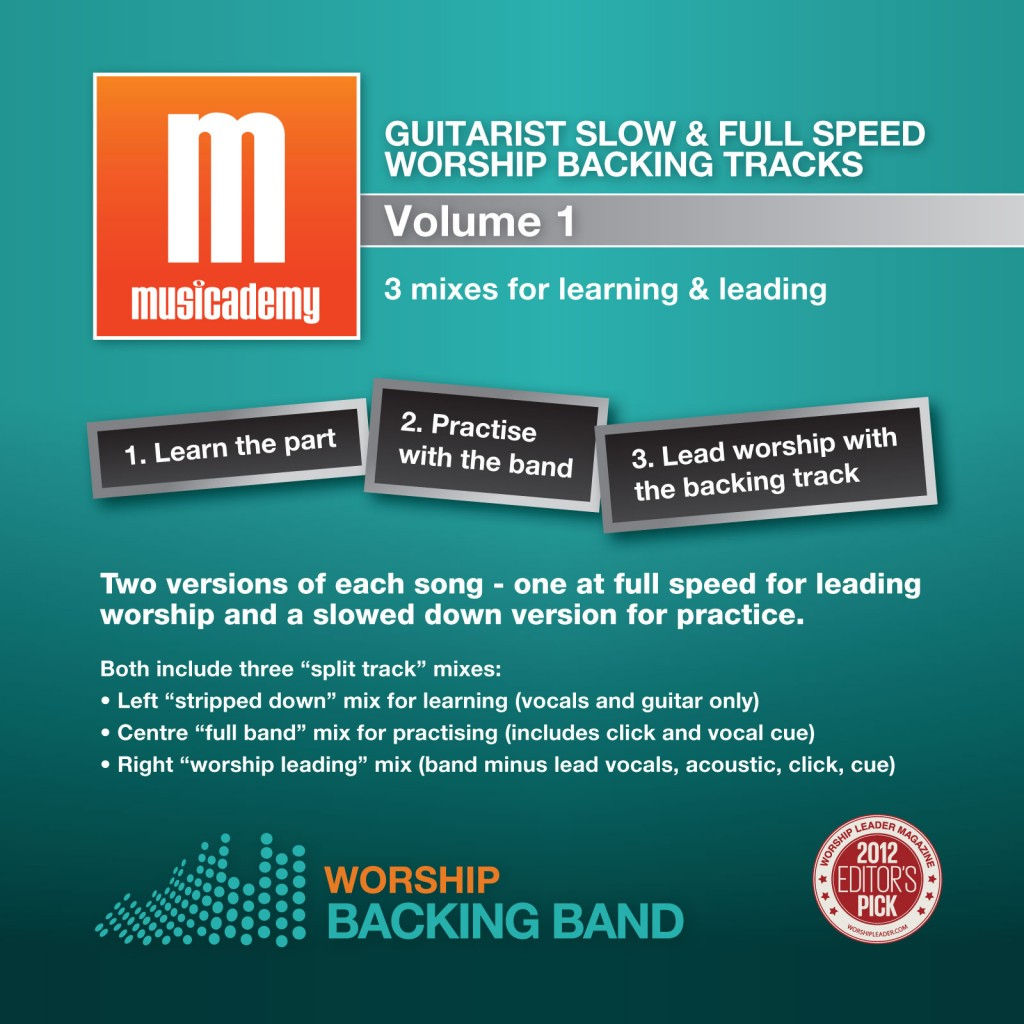 how to make a backing track from a song
