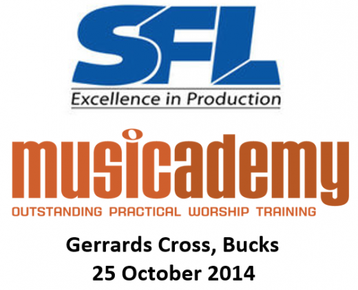 Musicademy and SFL Logo combo