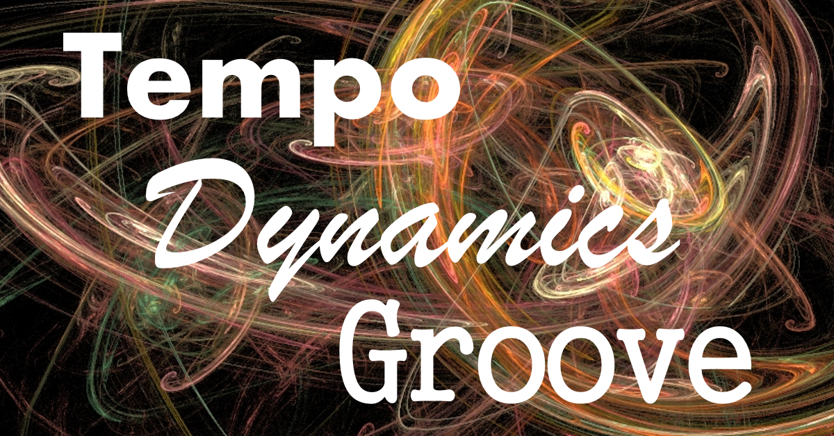 Tempo dynamics groove