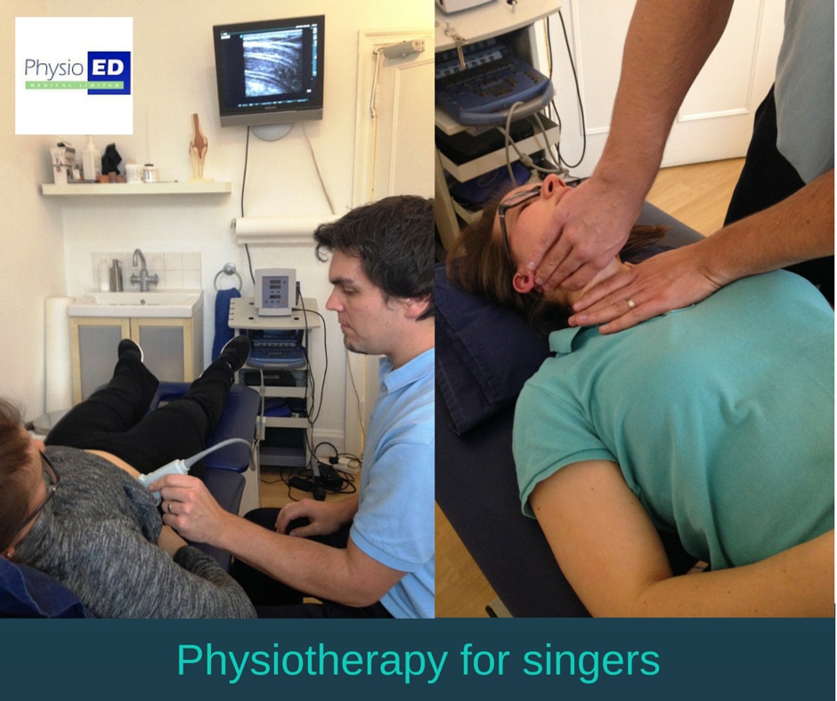 Physiotherapy for singers
