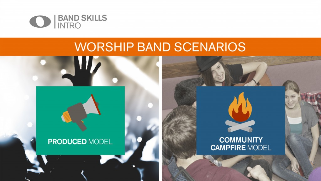 Different worship band scenarios