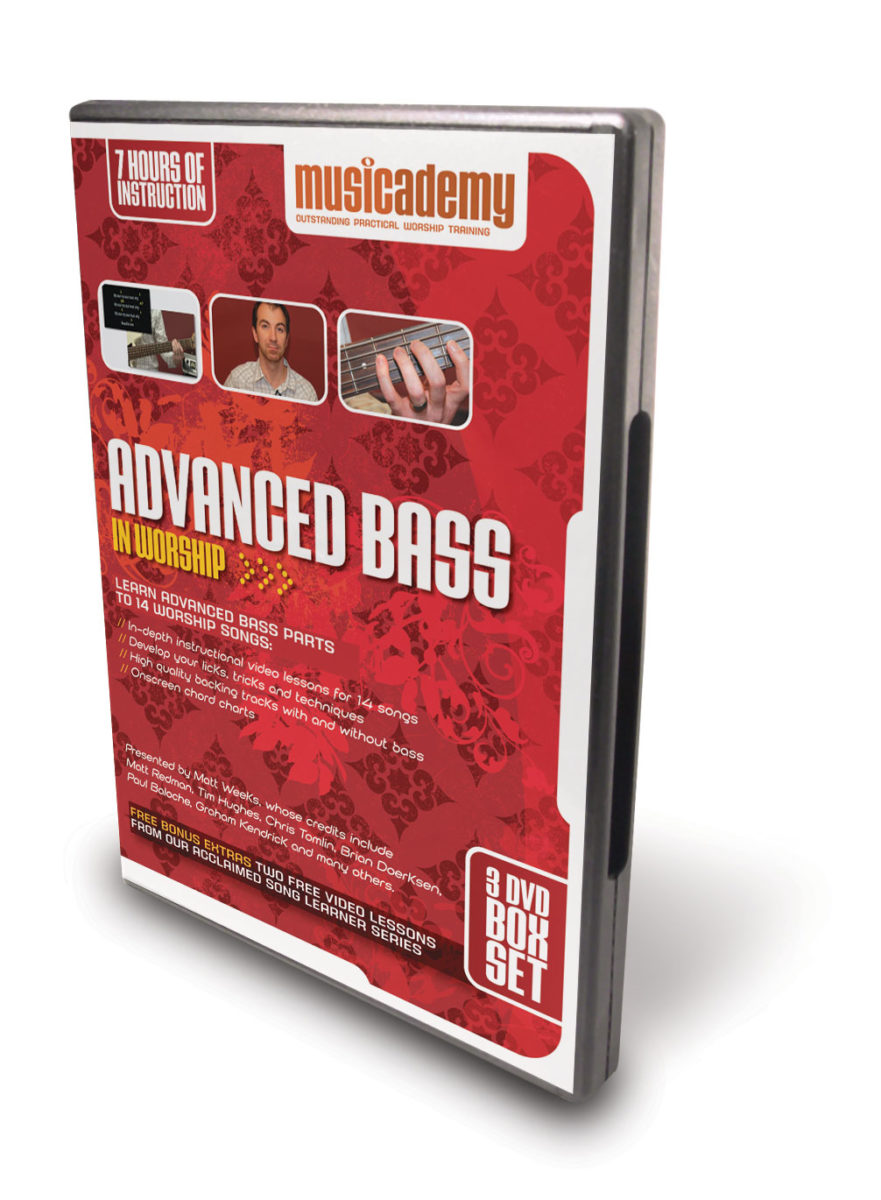 New – 3 DVDs for Advanced Bass Players