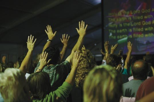 Summer festival worship. Are we stuck in a rut?
