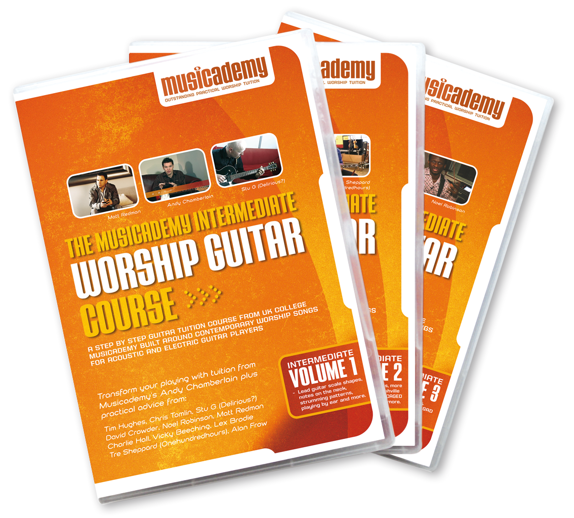 3 Intermediate Guitar DVD sets – which is right for me?