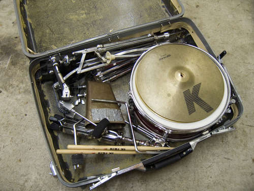 "Ask the expert – advice on assembling a ""suitcase"" drum kit"