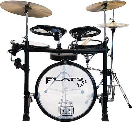 Ask the expert – what to do with an Arbiter Flats drum kit that is (shock) too quiet