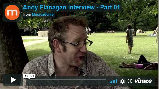 Andy Flannagan – video interview on worship music culture