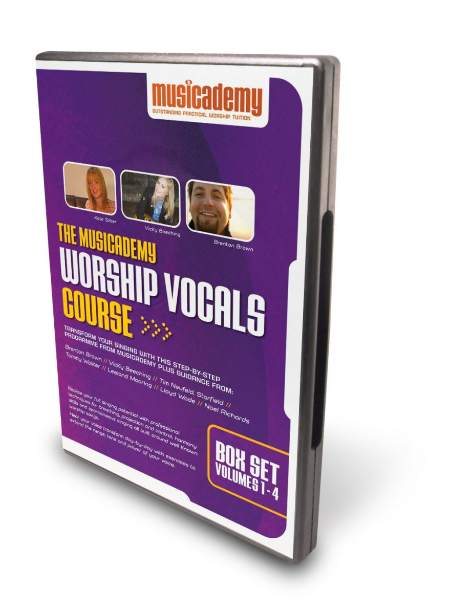 Worship Vocals Course now available as 13 online downloads. Save 20%