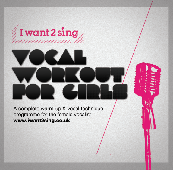 Two new vocals CDs and downloads. One for Guys and one for Girls.