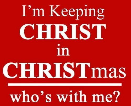 Does Xmas really mean excluding Christ from Christmas?