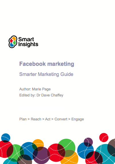 Learn Facebook marketing with Marie Page's new Smarter Marketing Guide
