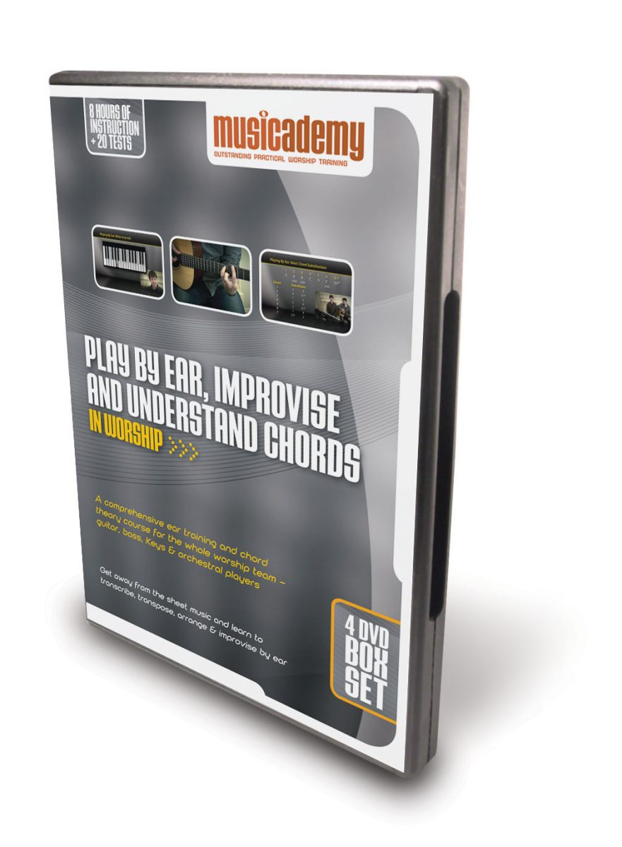At last. The DVDs that will transform the musicality of your entire worship team!