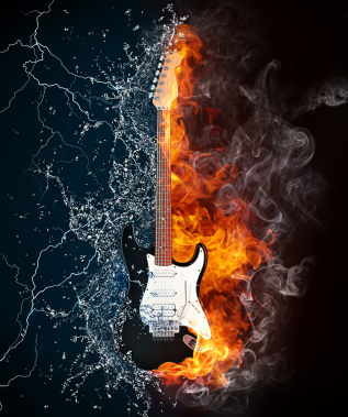 Guitar chords for fire