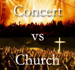 Training for Performance Concerts versus Church Worship Services