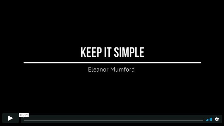Eleanor Mumford on worship songs