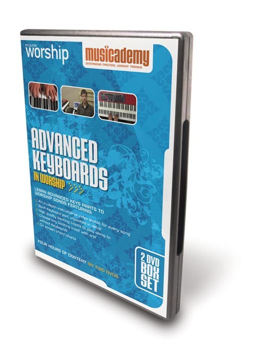 Advanced Worship Keyboard DVDs