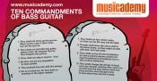 The 10 Commandments of Bass