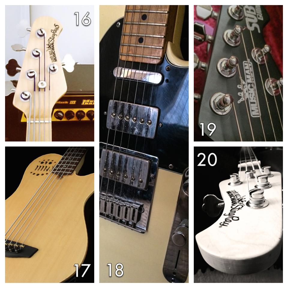 gear confessional guitars by ben mizen. Black Bedroom Furniture Sets. Home Design Ideas