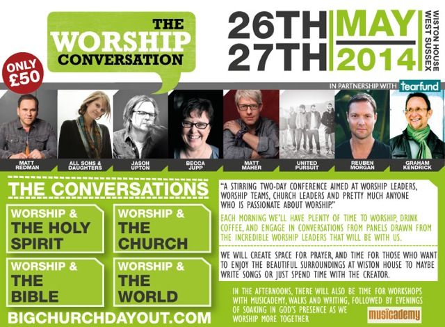 Training seminars from Musicademy at The Worship Conversation