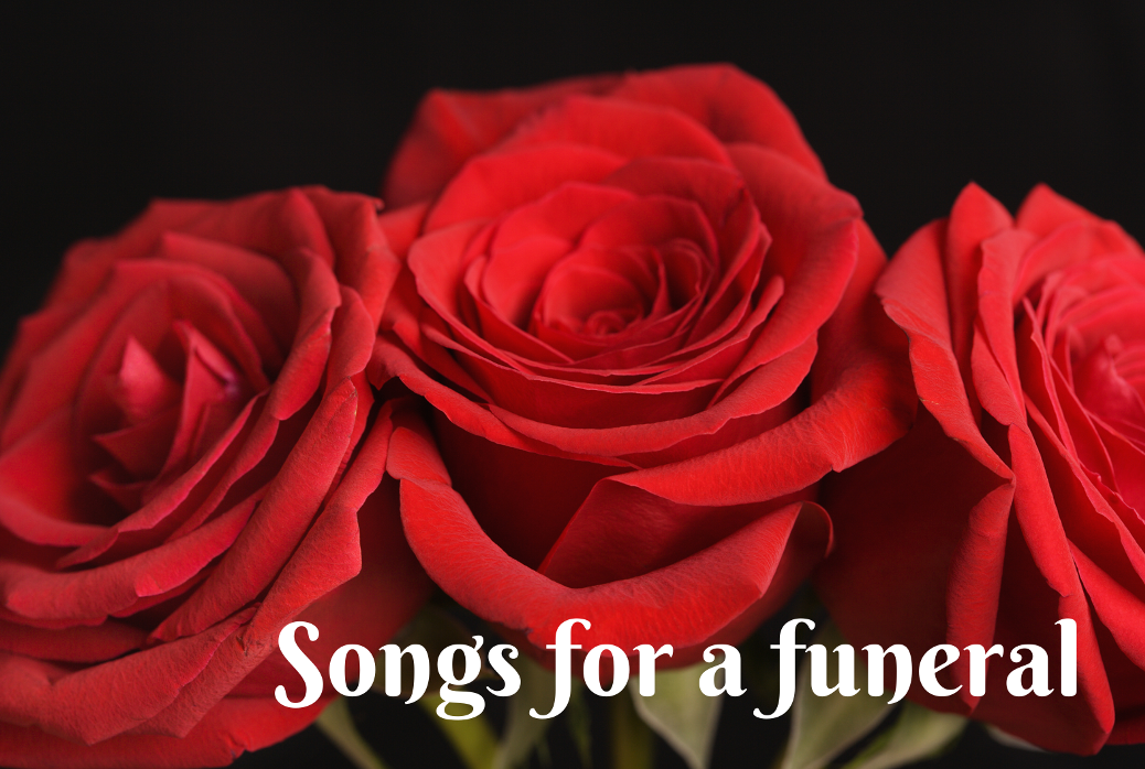 Suitable songs for a funeral or memorial service