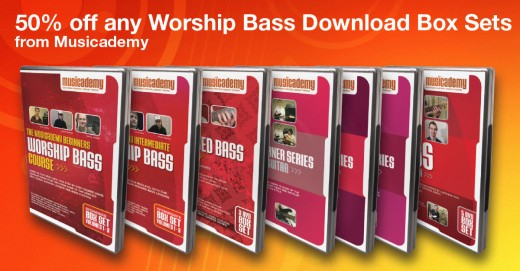 Save 50% on worship bass box set downloads