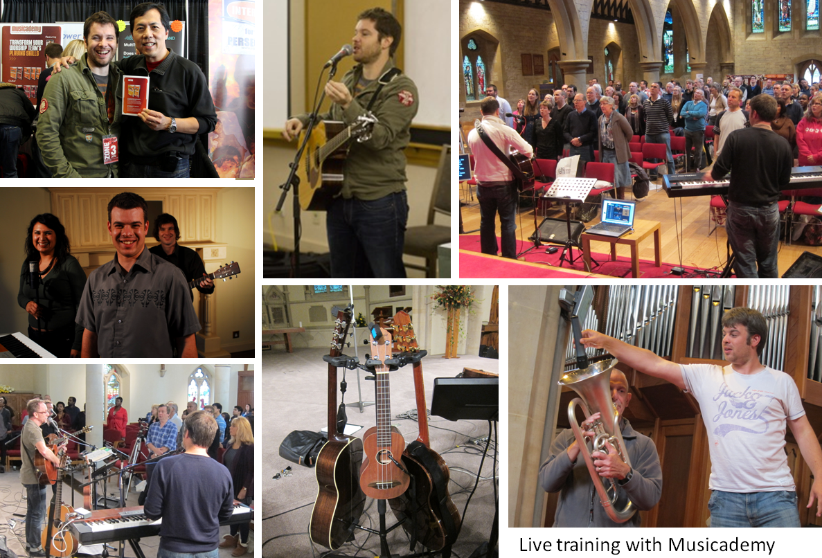 Bespoke live training for your worship team