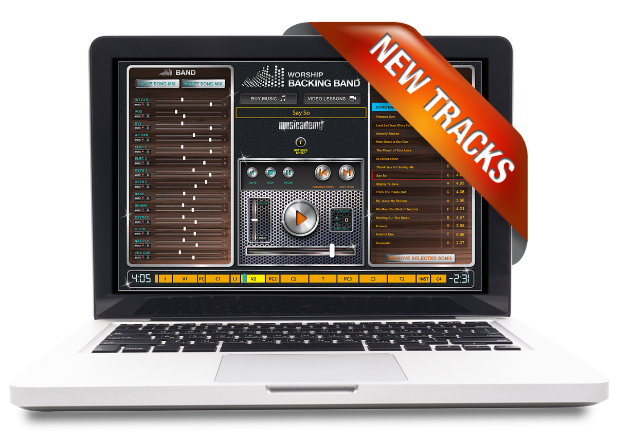 New MultiTracks and EveryKey Chord Charts