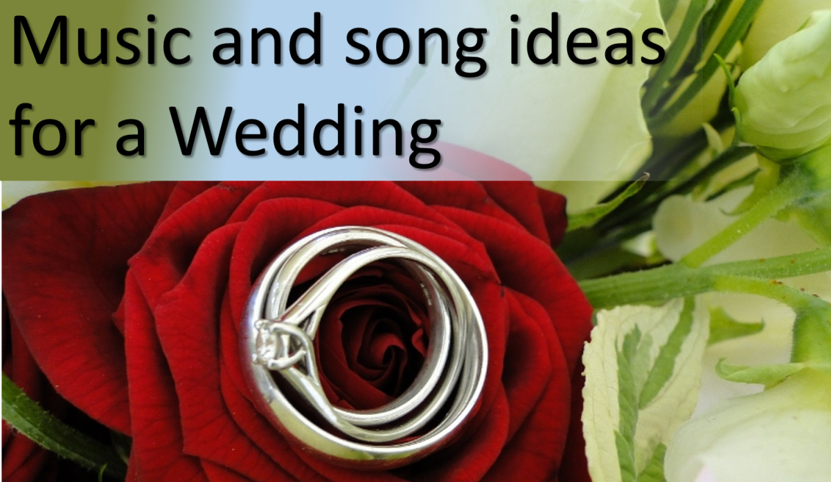 Recommended songs and hymns for a wedding