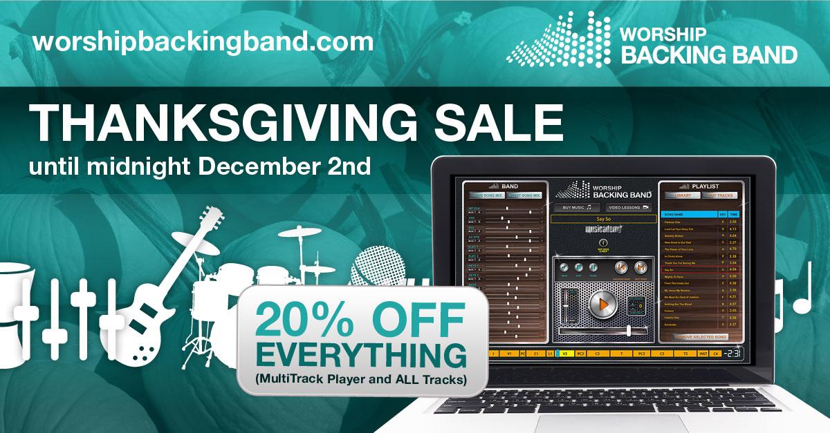 Worship Backing Band Black Friday Sale