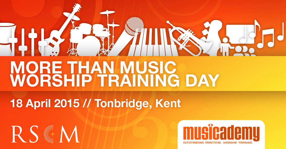 More Than Music Worship Training Day