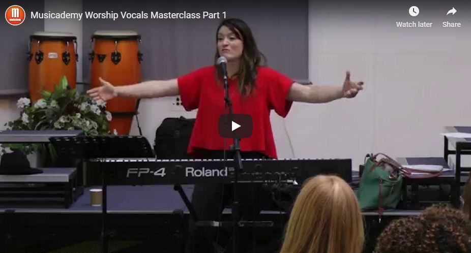 Musicademy Vocals Masterclass: an hour of vocals warm-ups, tips and inspiration from Philly Lopez