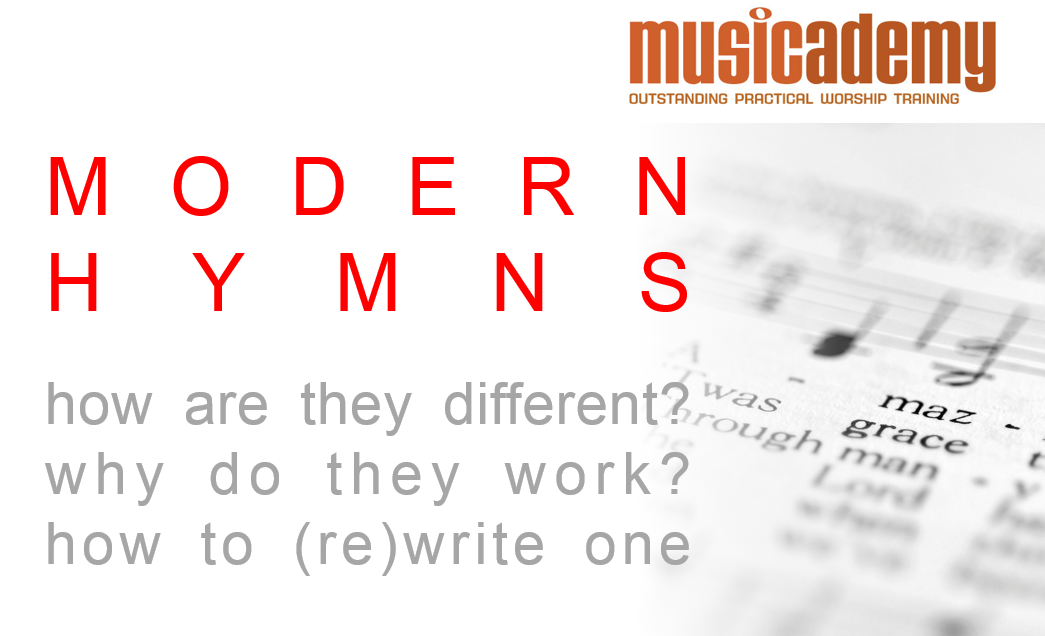 (Re)writing a modern hymn