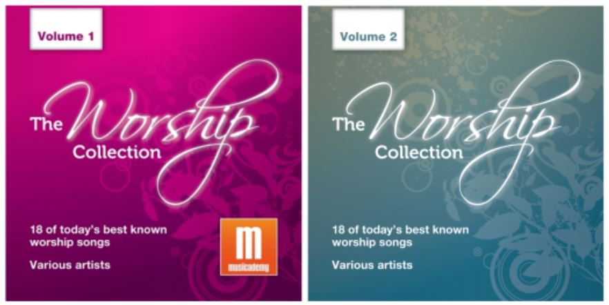 The Worship Collection: 36 worship songs to download in two albums