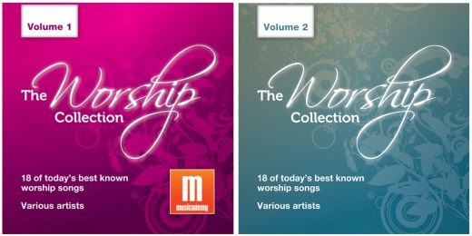 The Worship Collection volumes 1 and 2