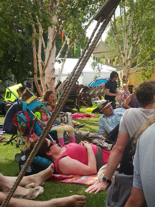 The chilled out vibe that is Cambridge Folk Festival