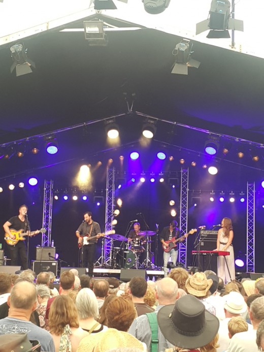 The Lone Bellow - one of a number of Americana/Alt Country acts over the weekend