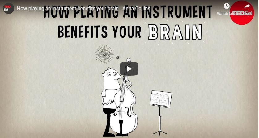 Playing an instrument is a great workout for your brain. Here's why.