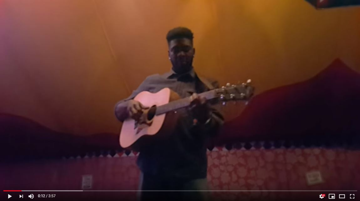 Jake Isaac: Impromptu acoustic, properly unplugged performances at Cambridge Folk Festival
