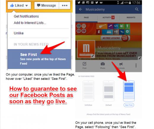 Facebook save montage