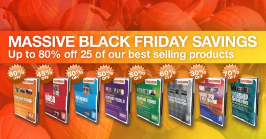 Musicademy worship training black friday sale