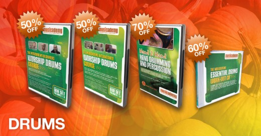 Worship Drums Training Black Friday Sale