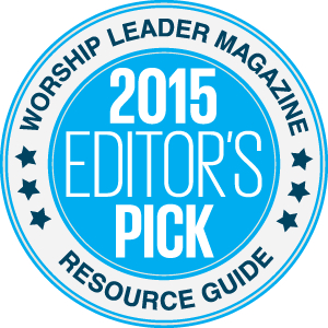 Another award from Worship Leader Magazine