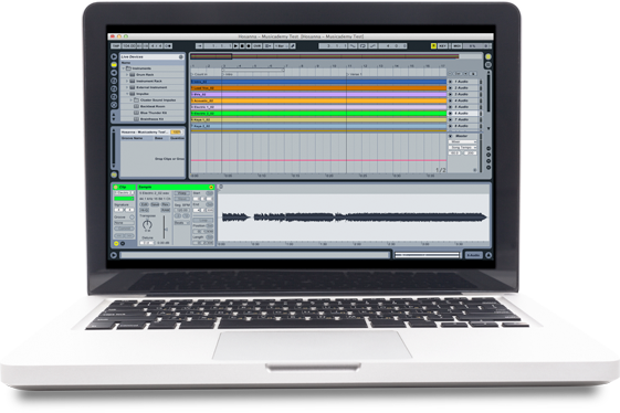 Working with backing tracks and MultiTracks