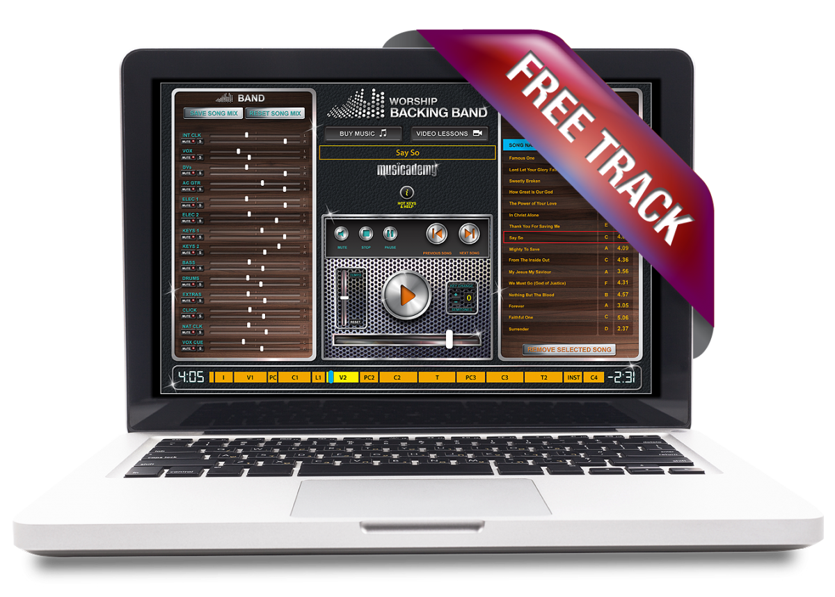 Have you used the free backing tracks? We need to know!