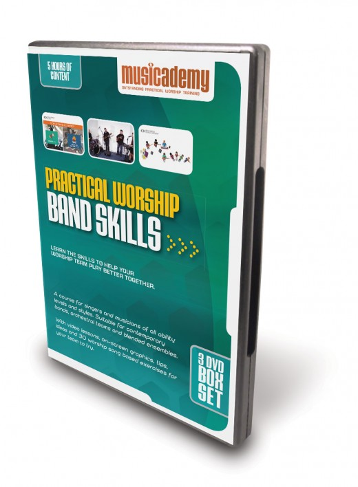 Worship Band Skills Training from Musicademy