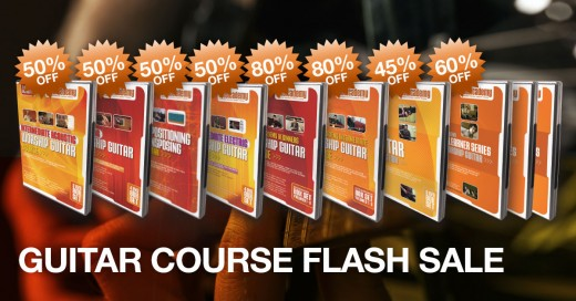 Worship Guitar Course Flash Sale