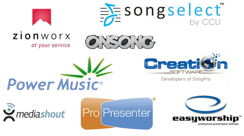 Worship software evaluation. We compare some of the great but less well known options.