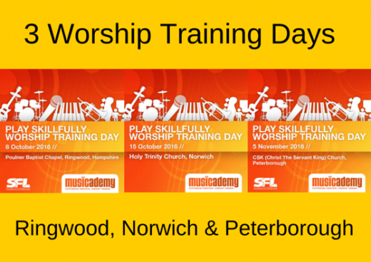 Worship Training Days